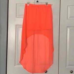 Express - high low skirt